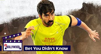 Ravi Teja sang the title song of Raja The Great