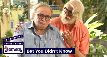 Amitabh Bachchan and Rishi Kapoor shot most of the film barefoot